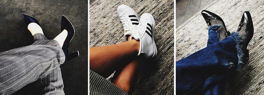 5 x outfit versus schoen met Anna Nooshin