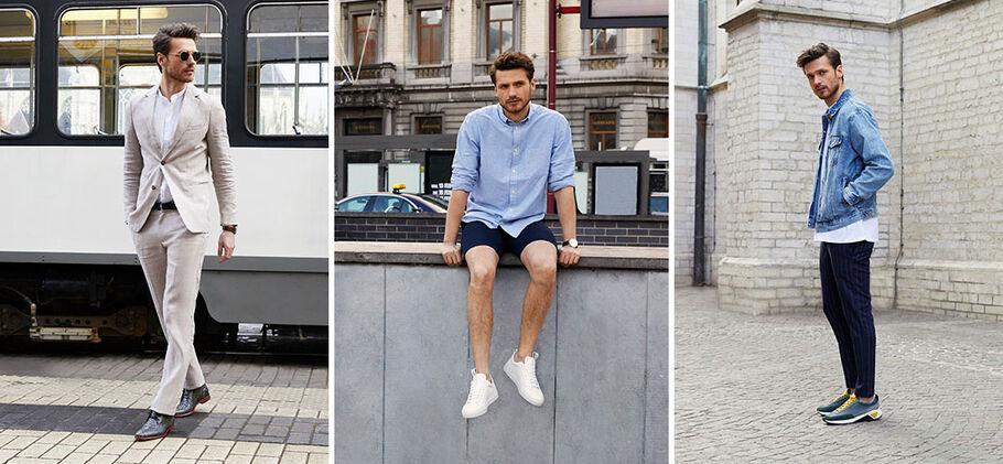 3 zomerse stijltips en de leukste zomerschoenen voor mannen