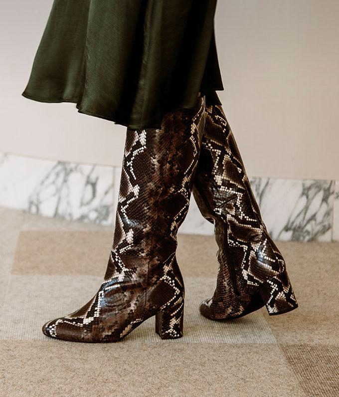 Trend: hoge laarzen