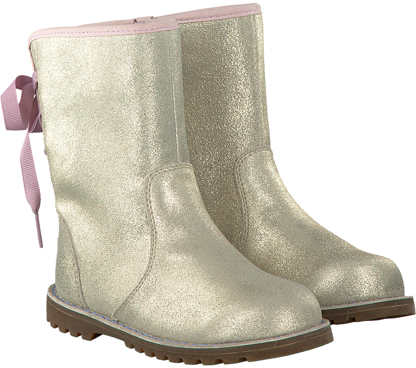 Gouden UGG Lange laarzen CORENE METALLIC  - larger