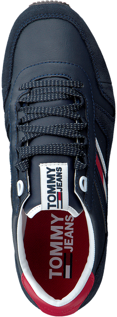 Blauwe TOMMY HILFIGER Sneakers RETRO RUNNER SNEAKER - large