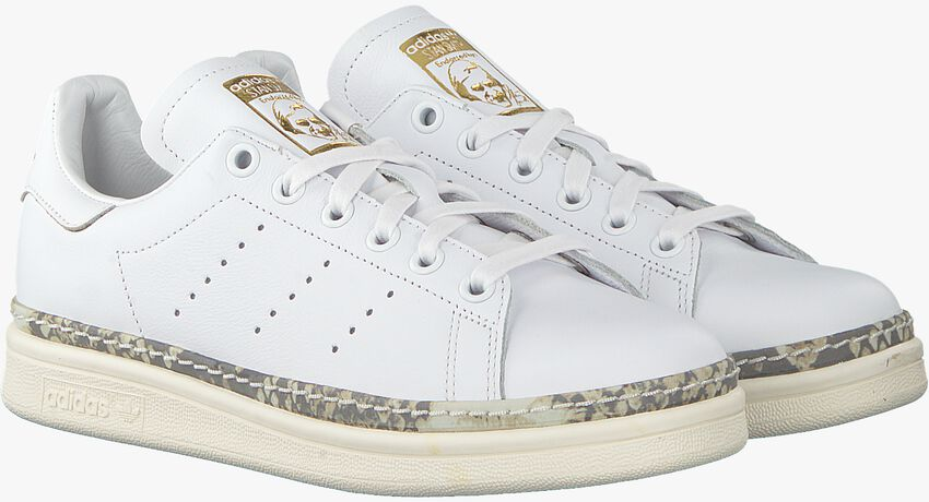 Witte ADIDAS Sneakers STAN SMITH NEW BOLD  - larger