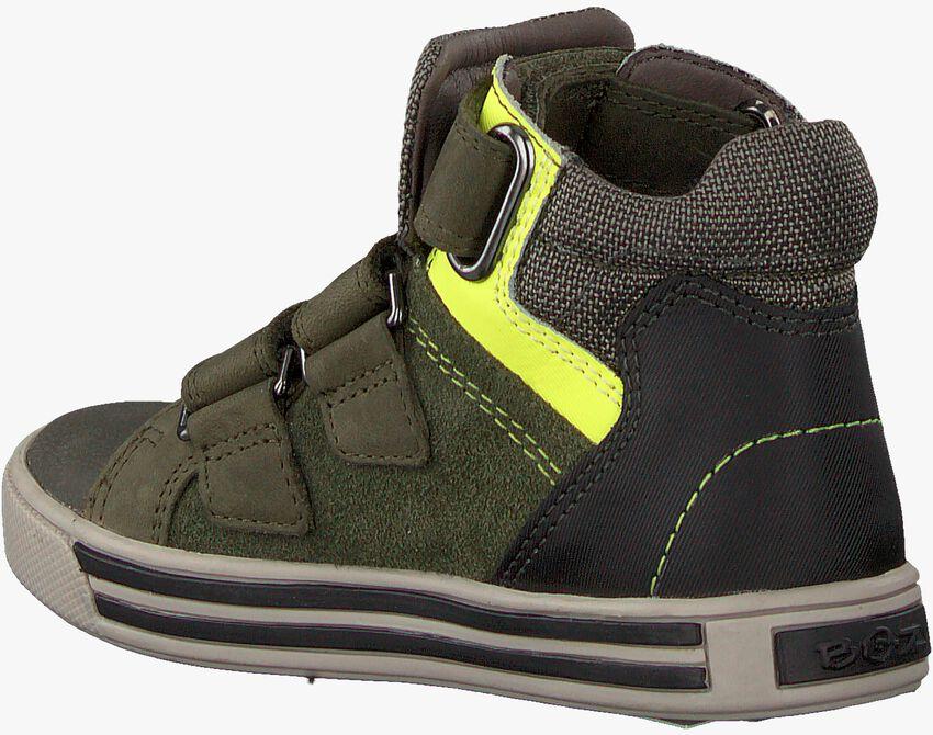 Groene BRAQEEZ Hoge sneaker DEX DAY  - larger