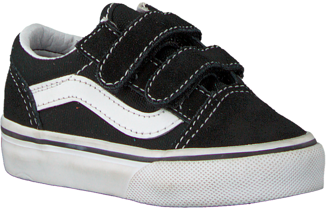 Zwarte VANS Sneakers TD OLD SKOOL V BLACK  - large