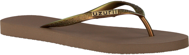 Taupe UZURII Slippers ORIGINAL BASIC - large