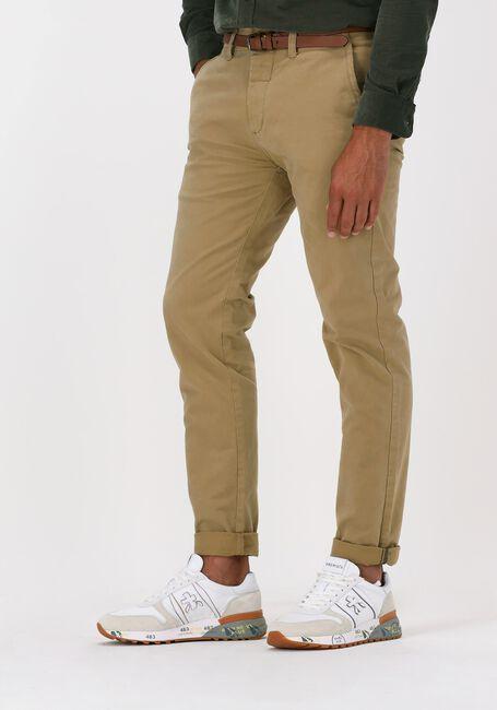 Khaki DSTREZZED Chino PRESLEY CHINO PANTS WITH BELT - large