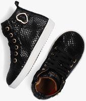 Zwarte TON & TON Hoge sneaker HANZEL  - medium