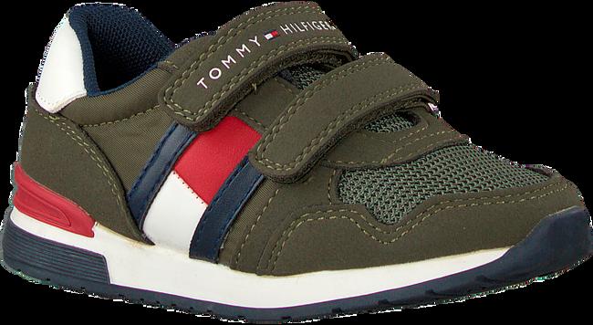 Groene TOMMY HILFIGER Lage sneakers LOW CUT VELCRO SNEAKER  - large