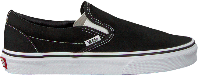 Zwarte VANS Slip-on sneakers  CLASSIC SLIP ON WMN  - large