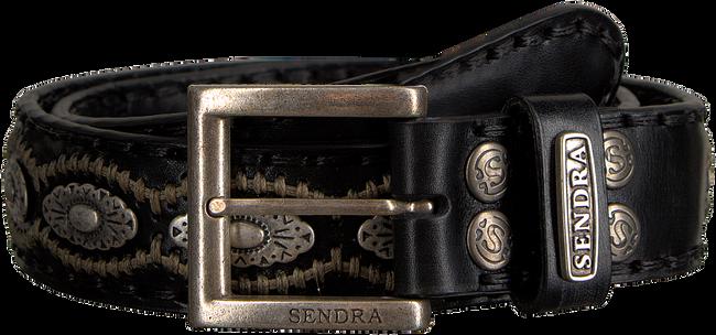Zwarte SENDRA Riem 7606 - large