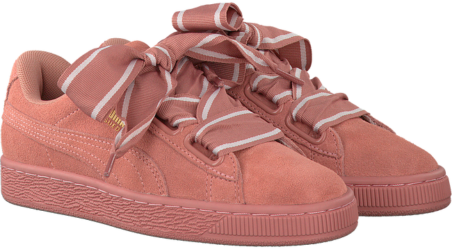 PUMA SNEAKERS SUEDE HEART SATIN II - large