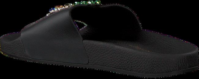 Zwarte THE WHITE BRAND Slippers PINEAPPLE  - large