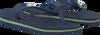 Blauwe HAVAIANAS Slippers BRASIL LOGO KIDS  - small