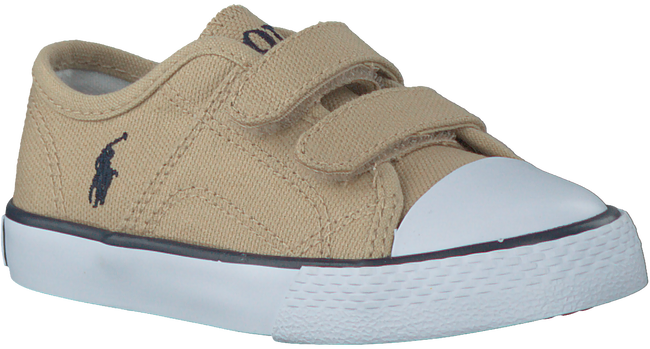 Beige POLO RALPH LAUREN Sneakers DYLAND EZ LAYETTE  - large