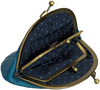 Blauwe BECKSONDERGAARD Portemonnee GRANNY RAINBOW - small
