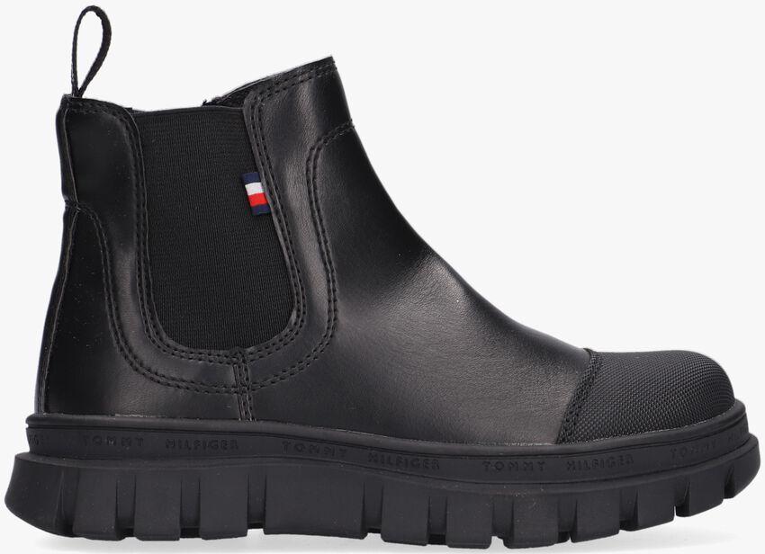 Zwarte TOMMY HILFIGER Chelsea boots 32035  - larger