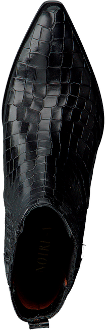 Zwarte NOTRE-V Enkellaarsjes 05A-201  - large