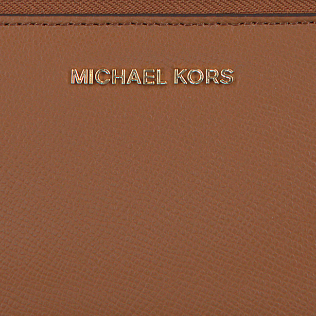 Cognac MICHAEL KORS Portemonnee LG FLAT MF PHN CASE  - large
