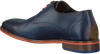 Blauwe FLORIS VAN BOMMEL Nette schoenen 18014  - small