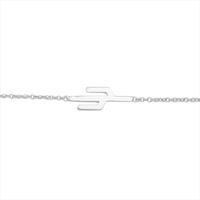 Zilveren ATLITW STUDIO Armband SOUVENIR BRACELET CACTUS - medium