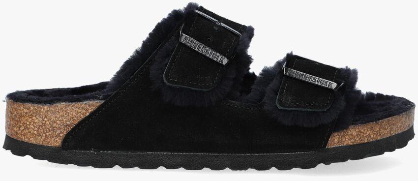 Zwarte BIRKENSTOCK Pantoffels ARIZONA FELL  - larger