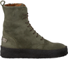 Groene SHABBIES Veterboots 184020014 - small