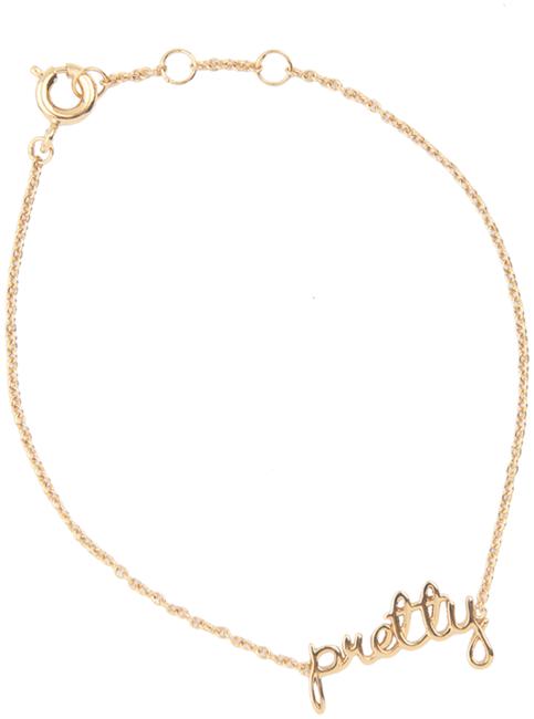 Gouden ALLTHELUCKINTHEWORLD Armband URBAN BRACELET PRETTY - large