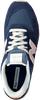 Blauwe NEW BALANCE Lage sneakers WL996  - small