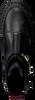 Zwarte NUBIKK Enkelboots FAE RAY  - small