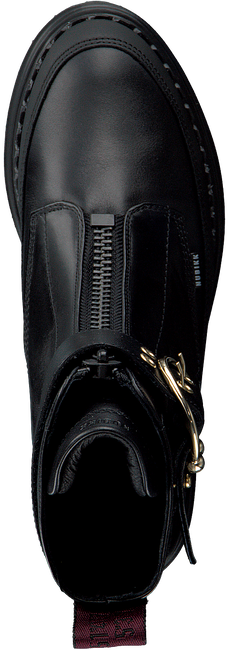 Zwarte NUBIKK Enkelboots FAE RAY  - large