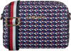 Grijze TOMMY HILFIGER Schoudertas ICONIC TOMMY CROSSOVER  - small