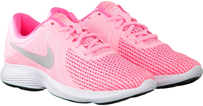 Roze NIKE Sneakers REVOLUTION 4 (GS)  - large