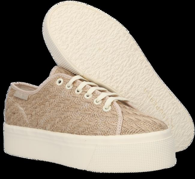 Beige SUPERGA Lage sneakers 2790 BRAIDCORD  - large