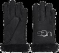 Zwarte UGG Handschoenen SHEEPSKIN LOGO - medium