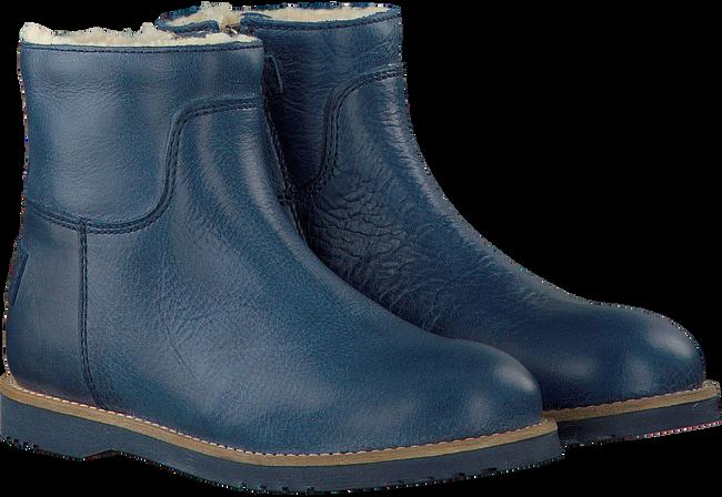 Blauwe SHABBIES Enkellaarsjes 172-0141SH  - large
