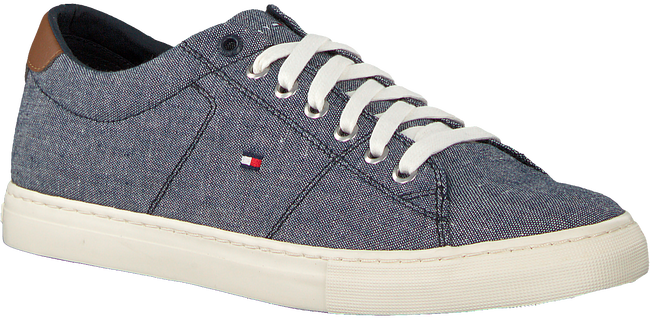 Blauwe TOMMY HILFIGER Sneakers SEASONAL TEXTILE  - large