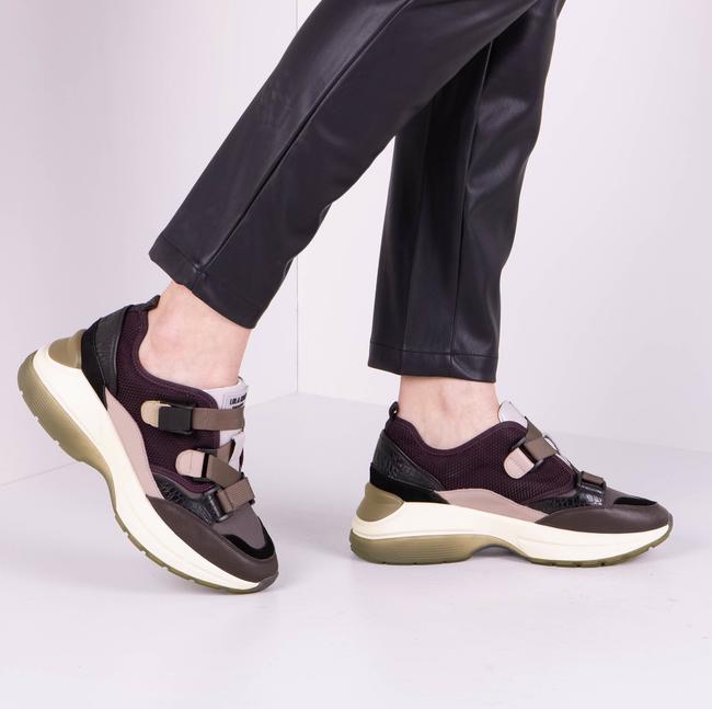 Paarse LOLA CRUZ Sneakers 444Z88BK - large
