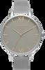 Zilveren OLIVIA BURTON Horloge BIG DIAL - small