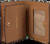 Cognac MICHAEL KORS Portemonnee FLAP CARD HOLDER - small
