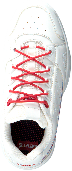 Witte LEVI'S Lage sneakers SOHO  - large