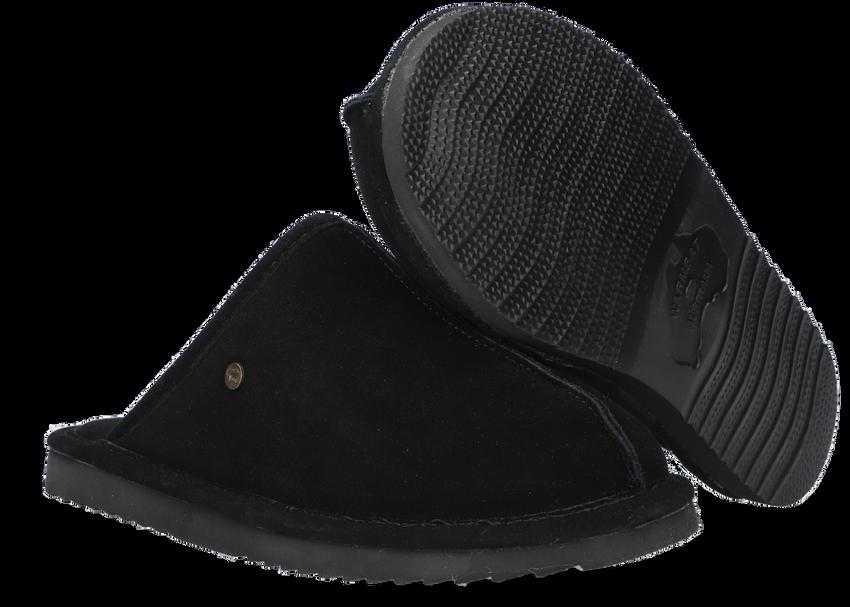 Zwarte WARMBAT Pantoffels BARRON  - larger