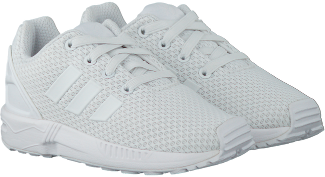 Witte ADIDAS Sneakers ZX FLUX KIDS  - large
