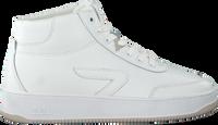 Witte HUB Hoge sneaker BASELINE-W MID  - medium
