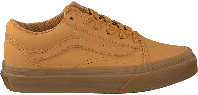 Gele VANS Sneakers OLD SKOOL KIDS  - large