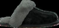 Zwarte UGG Pantoffels W SCUFFETTE II - medium