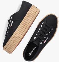 Zwarte SUPERGA Lage sneakers 2790 ROPE  - medium