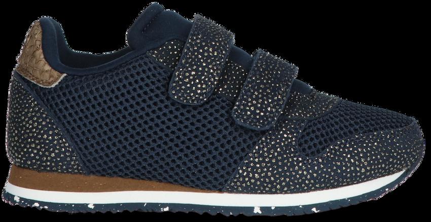 Blauwe WODEN Lage sneakers SANDRA PEARL MESH  - larger