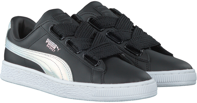 Zwarte PUMA Sneakers BASKET HEART EXPLOSIVE  - large