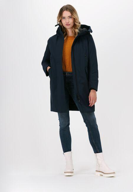 Blauwe KRAKATAU Gewatteerde jas QW345  - large