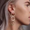 Gouden MY JEWELLERY Oorbellen CIRCLES EARRINGS  - small